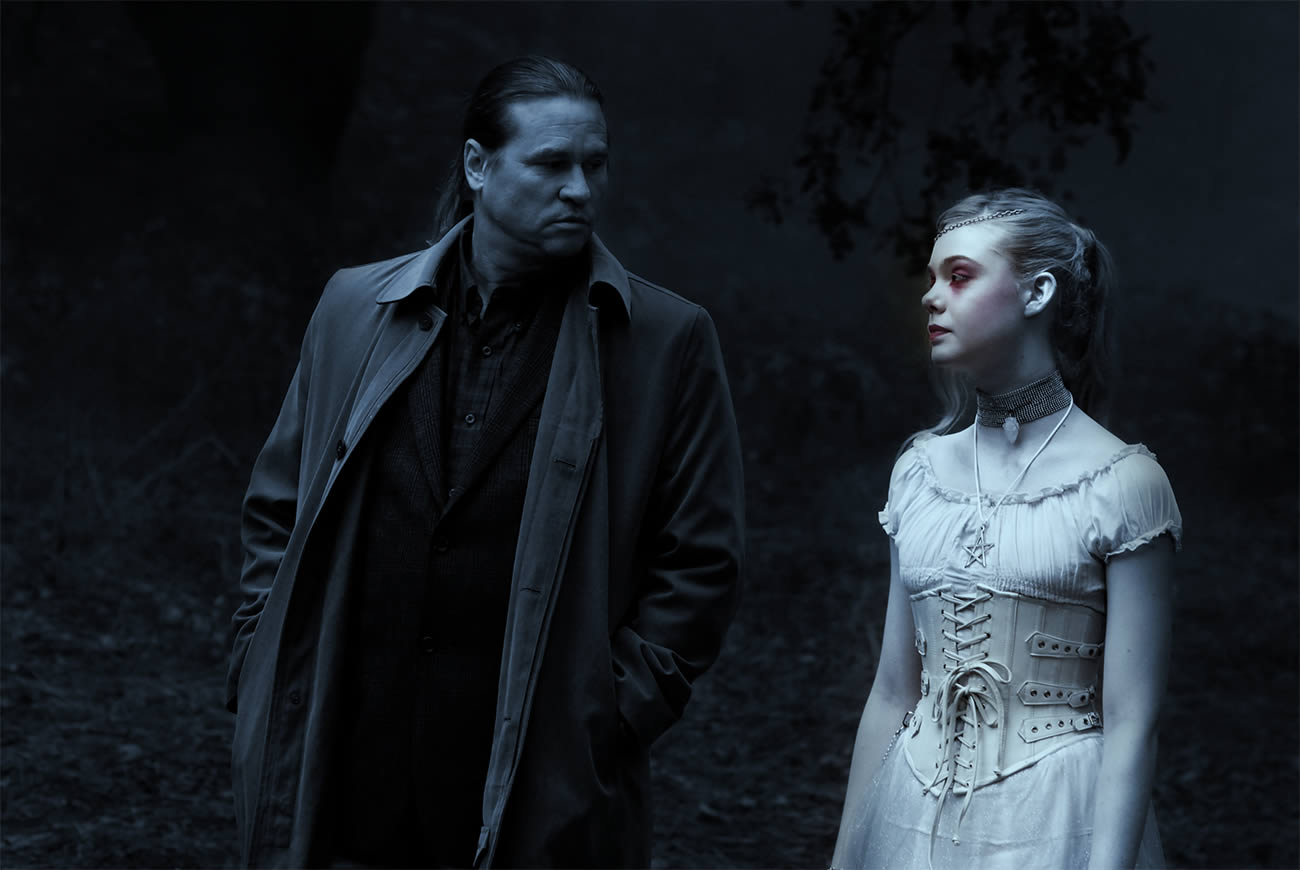 twixt, val kilmer and elle fanning talking