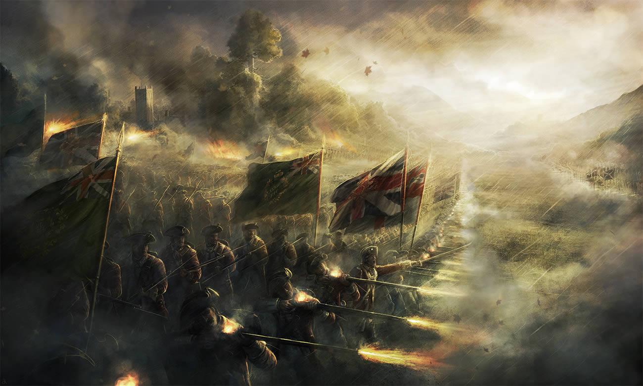 battle ships, digital art by rado javor 3