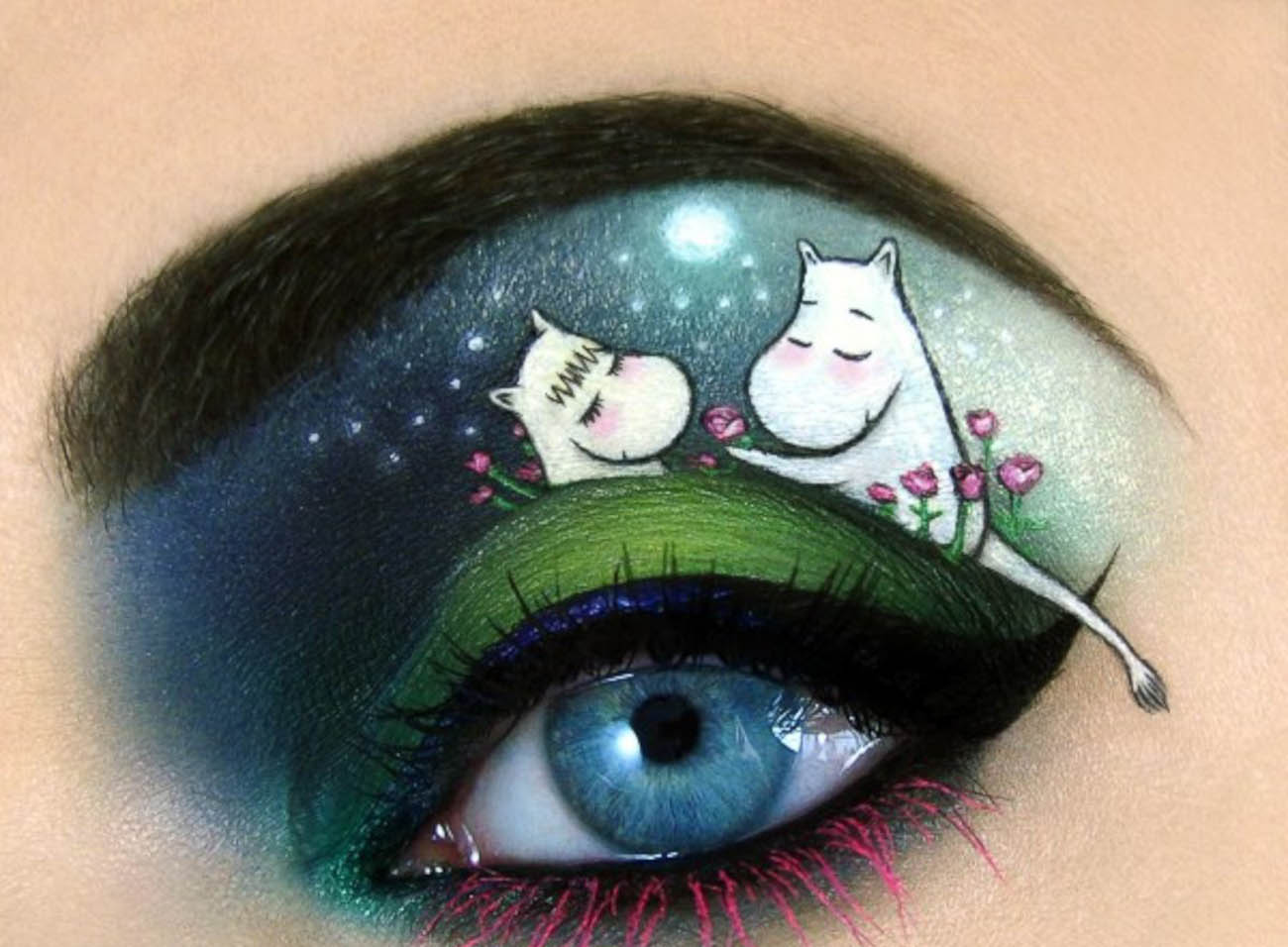 tal peleg moomin make up