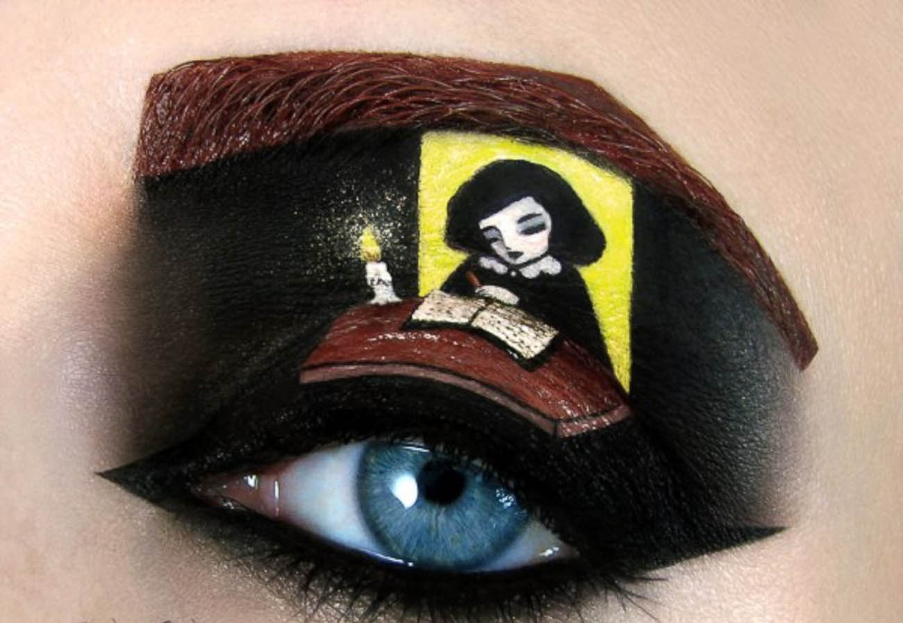 tal peleg make up surreal gothic