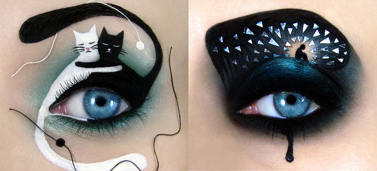 cat eye makeup by tal peleg