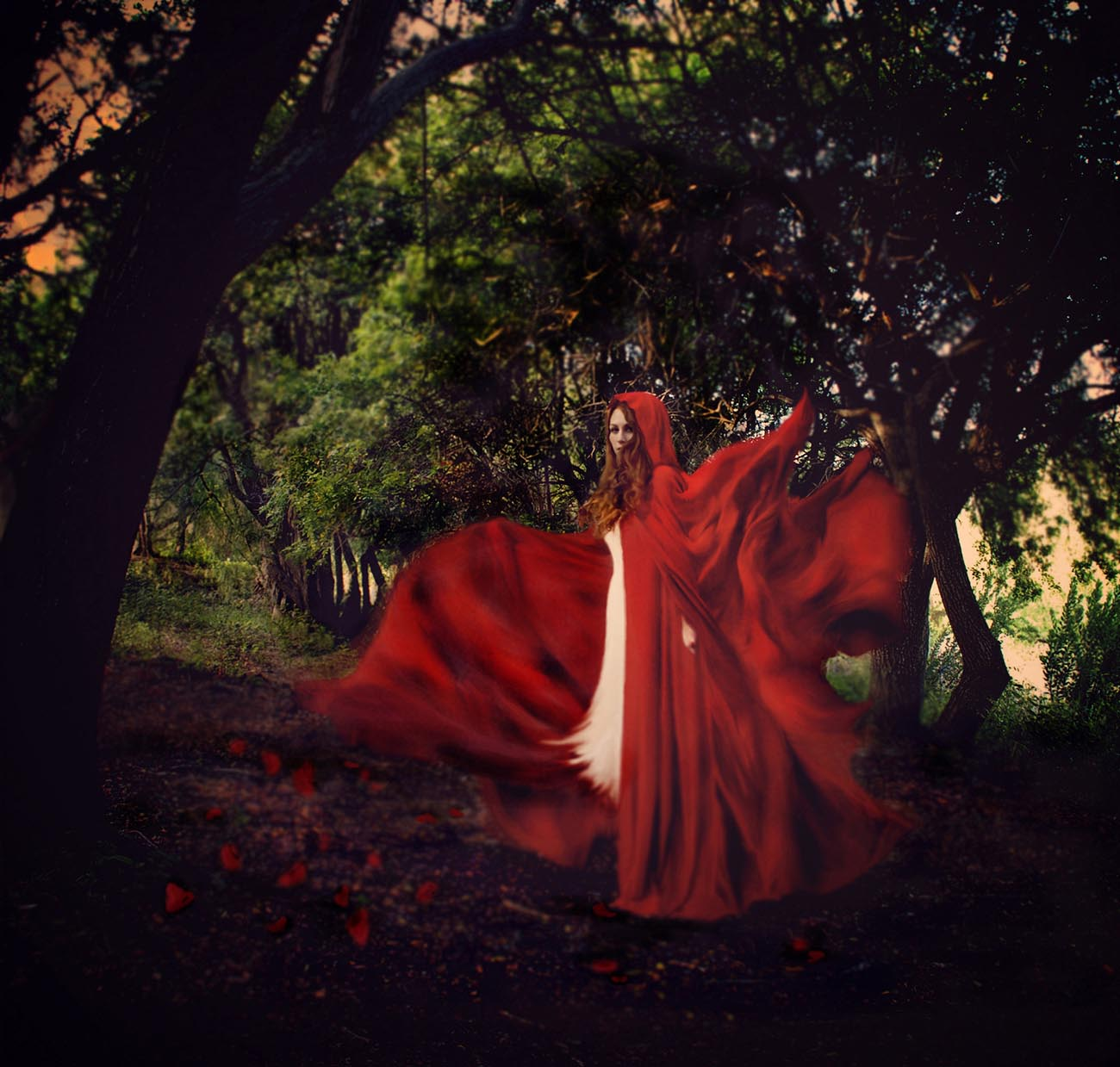 red riding hood photography