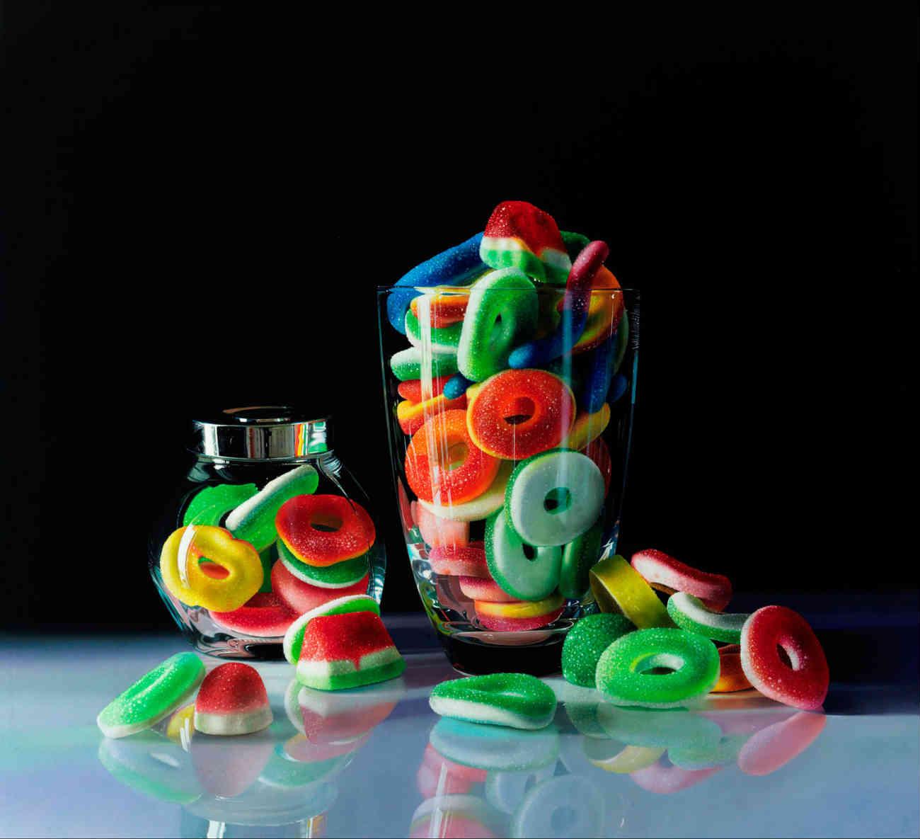 Roberto Bernardi photo realist candy