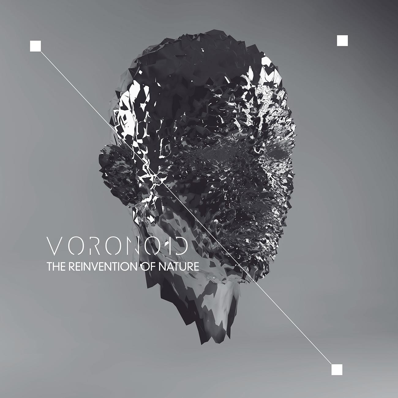 Voronoid metal face by Nastplas