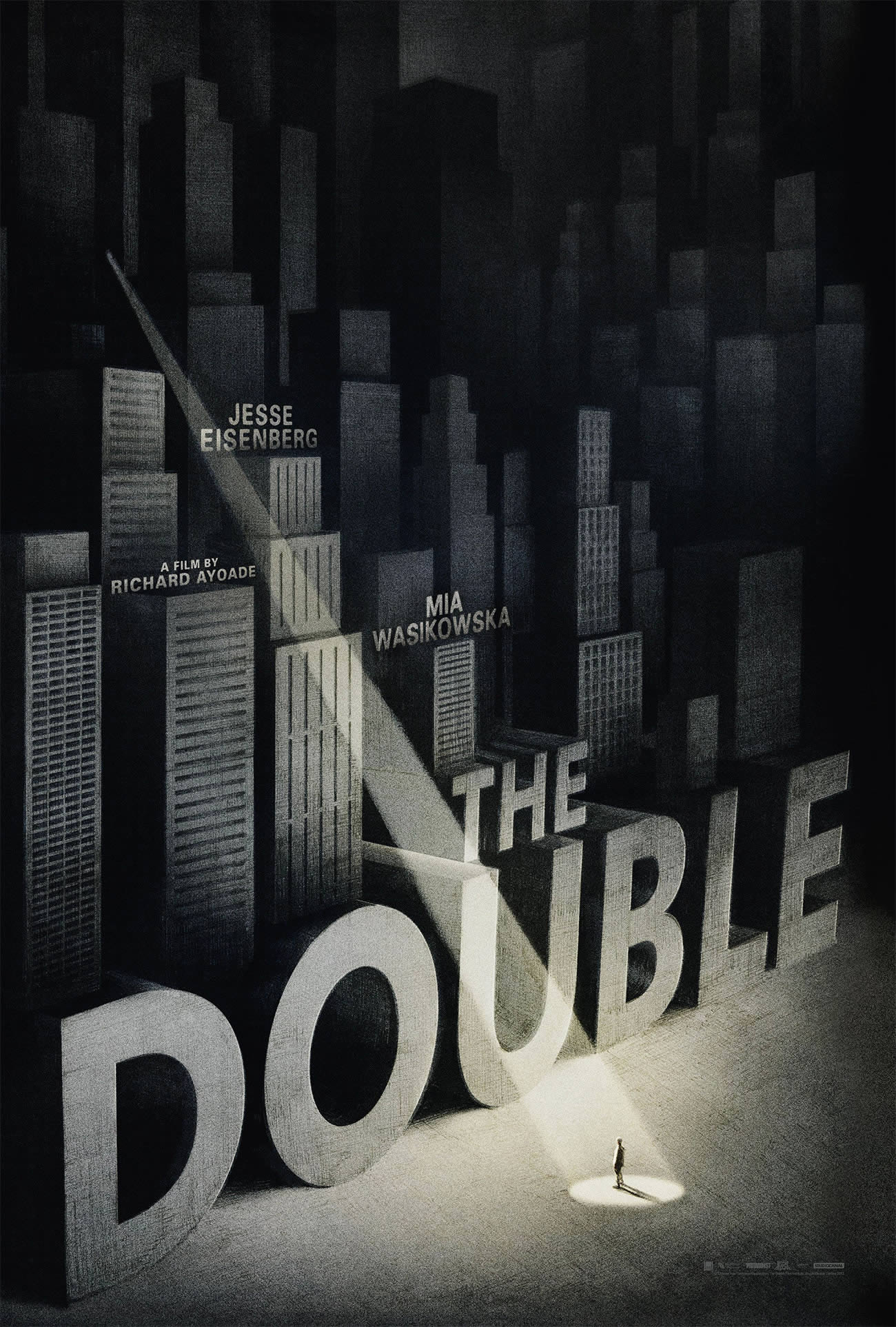 the double with jesse, movie poster