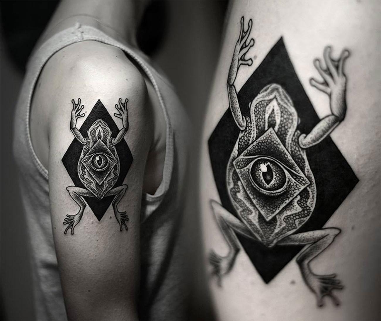 More Rad Tattoos by Kamil Czapiga