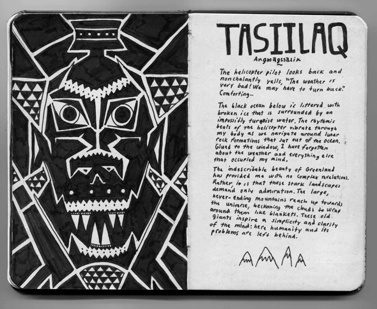 tasiilaq,  introspective by david zvereff