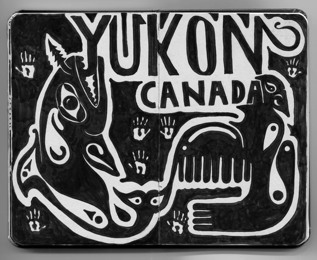 yokon canada,  introspective by david zvereff