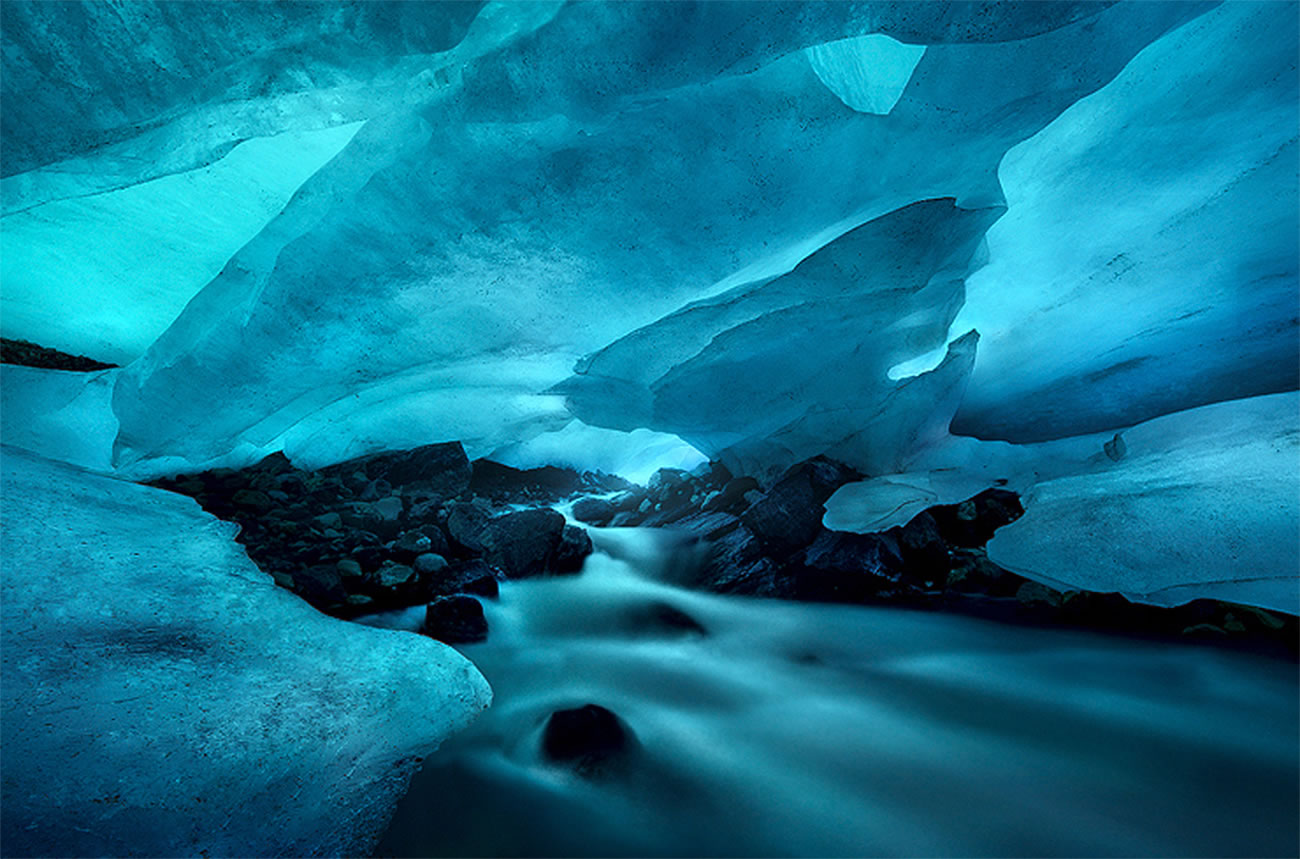 blue ice photography by marc adamus