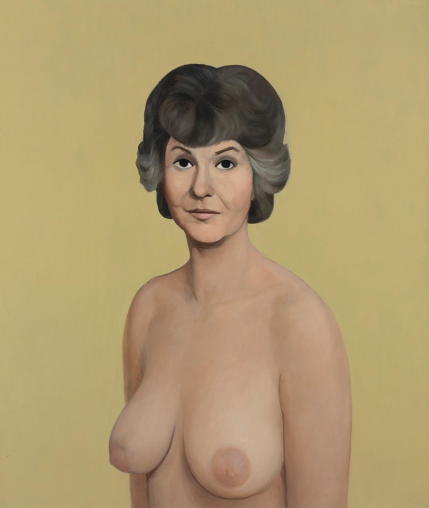 bea arthur portrait nude john currin