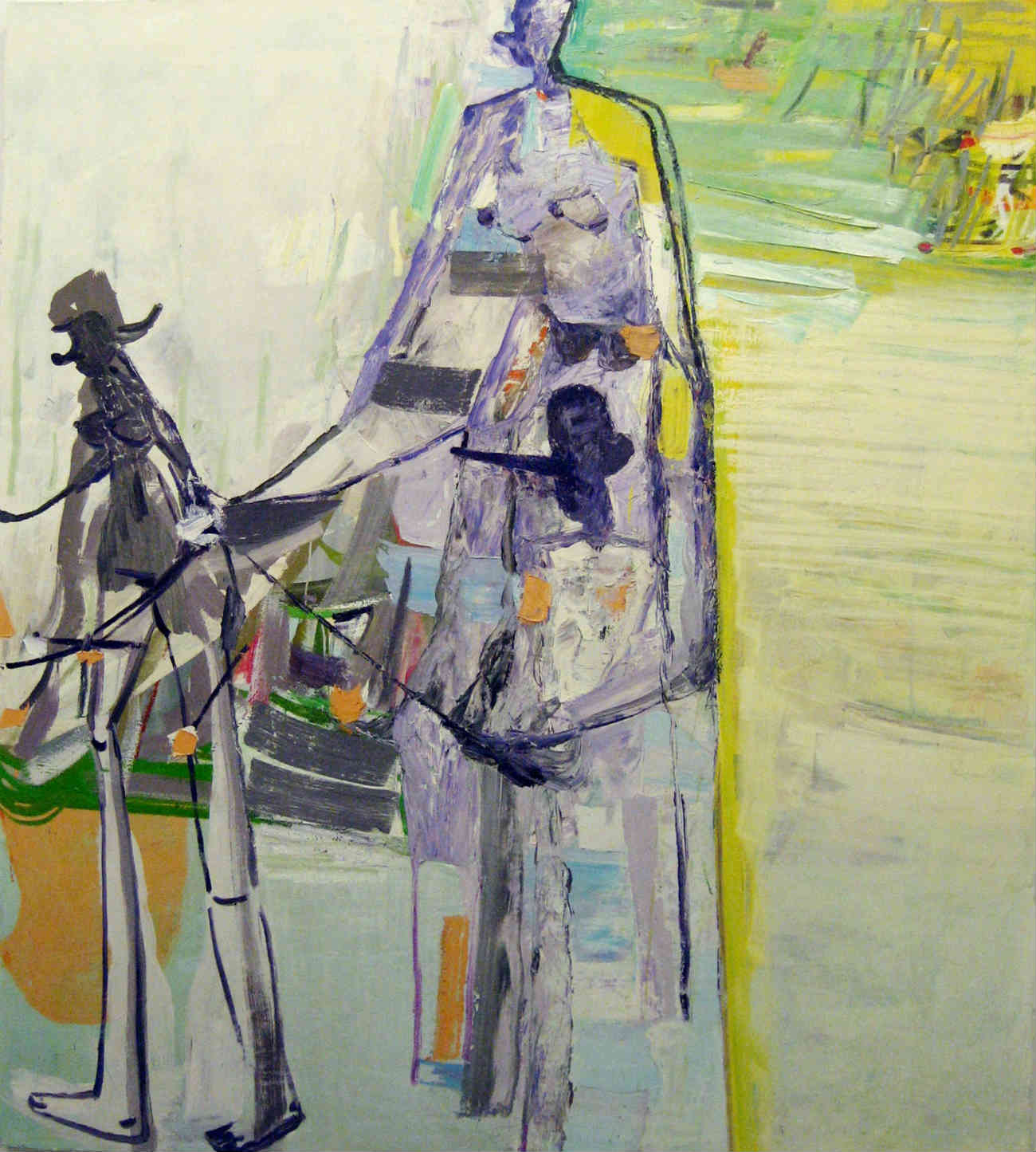 amy sillman nude painting
