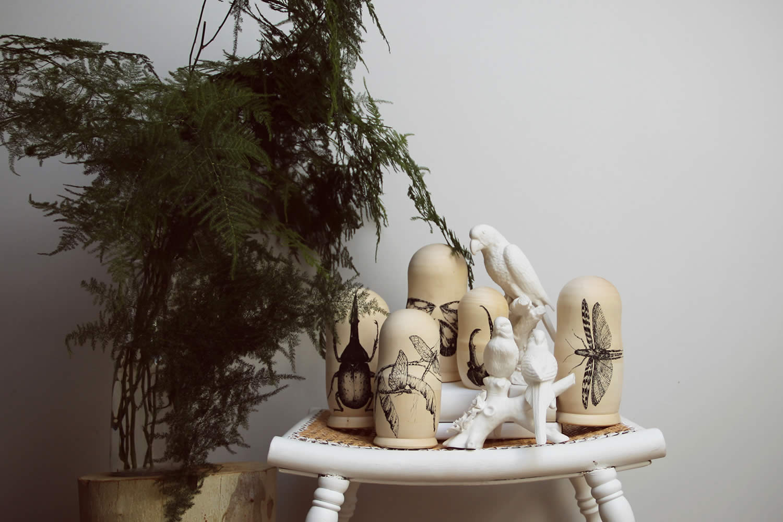 matryoshka wood by raul gutierrez