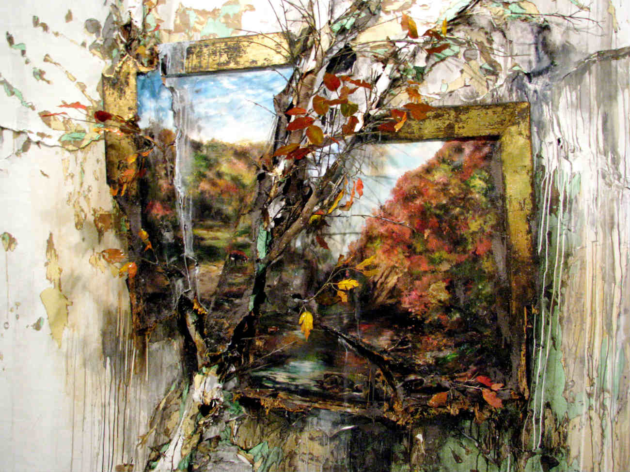 valerie hegarty painting decomposing