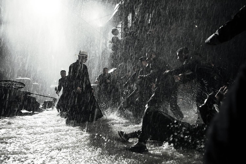 fight scene in the rain, the grandmaster 2013