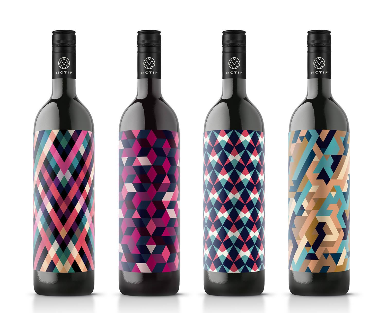 Motif Wine by en garde