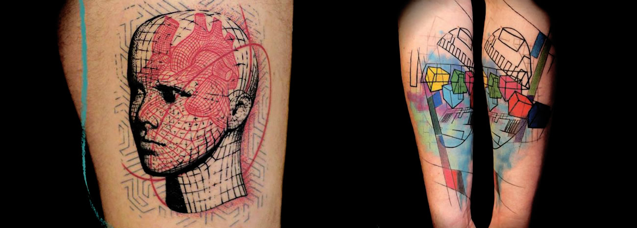 tattoos by Aldona Szery