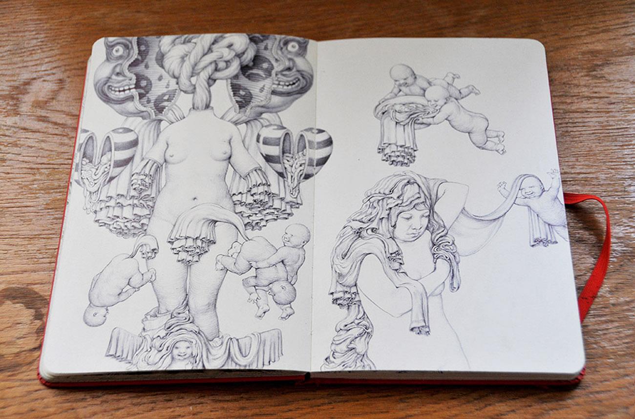 sketchbook drawing by anton vill 7