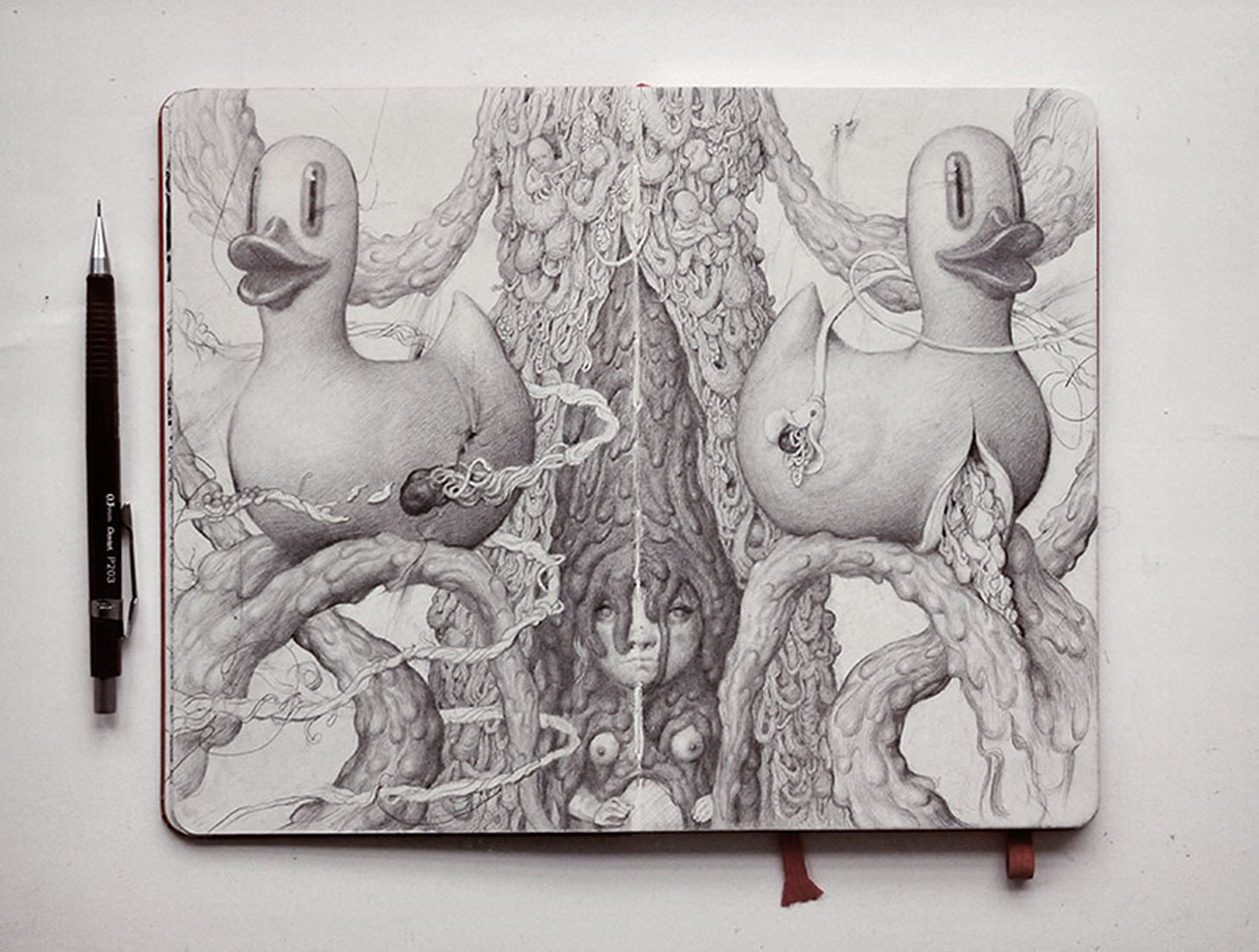 sketchbook drawing by anton vill 4
