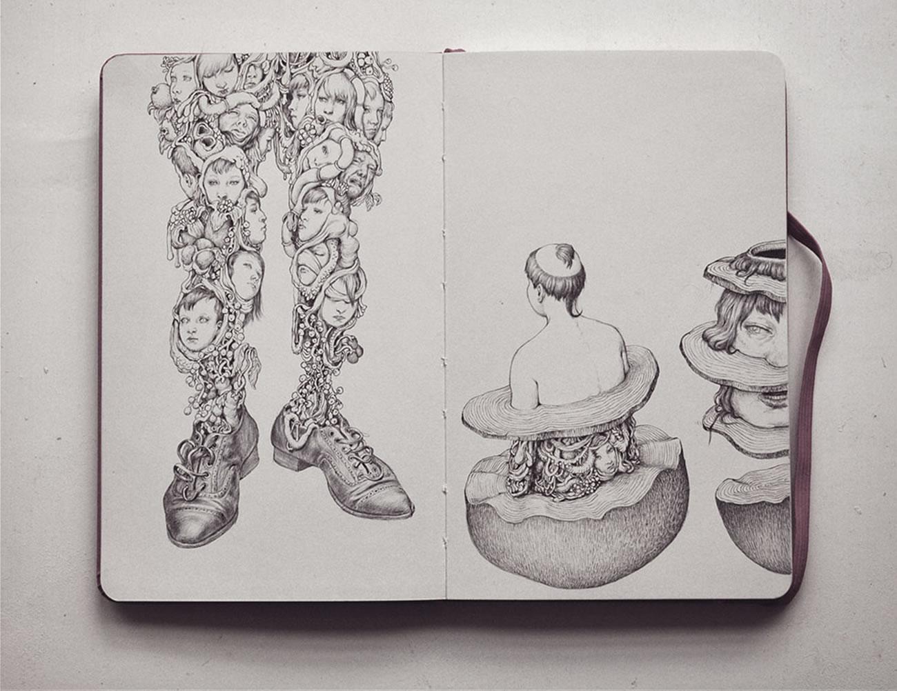 sketchbook drawing by anton vill 10