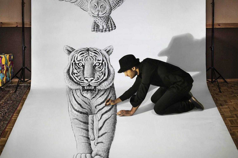 ben heines 3d tiger