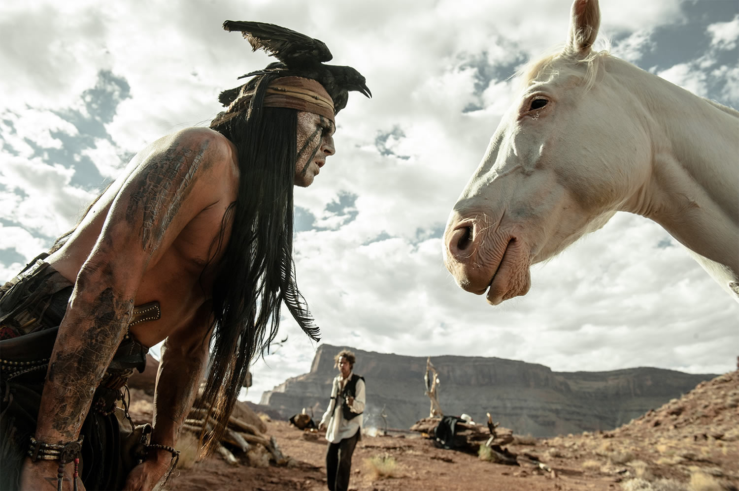 tonto with horse silver in the lone ranger