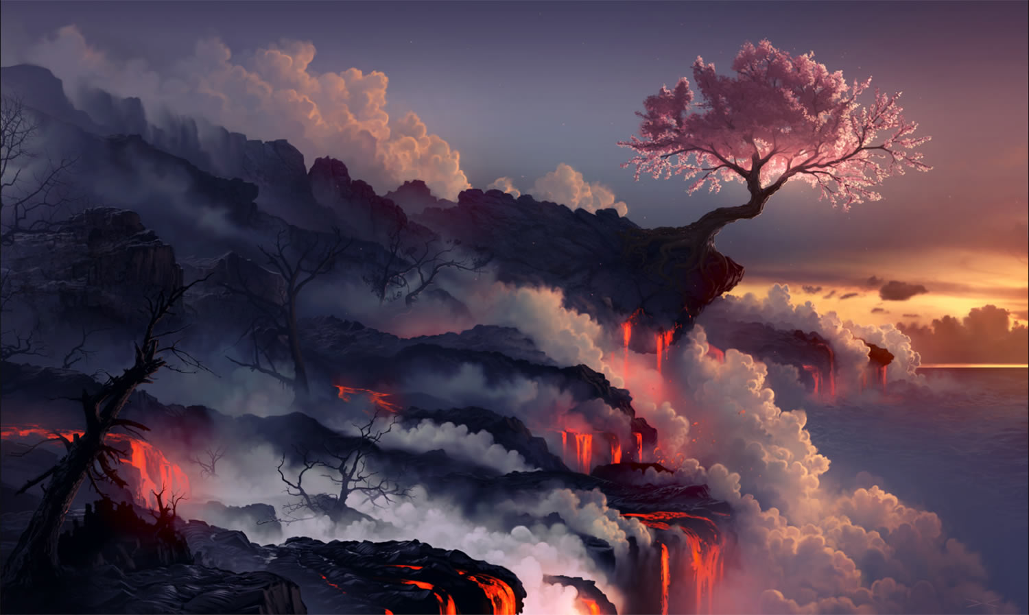 """Scorched Earth"" by Daniel Conway."