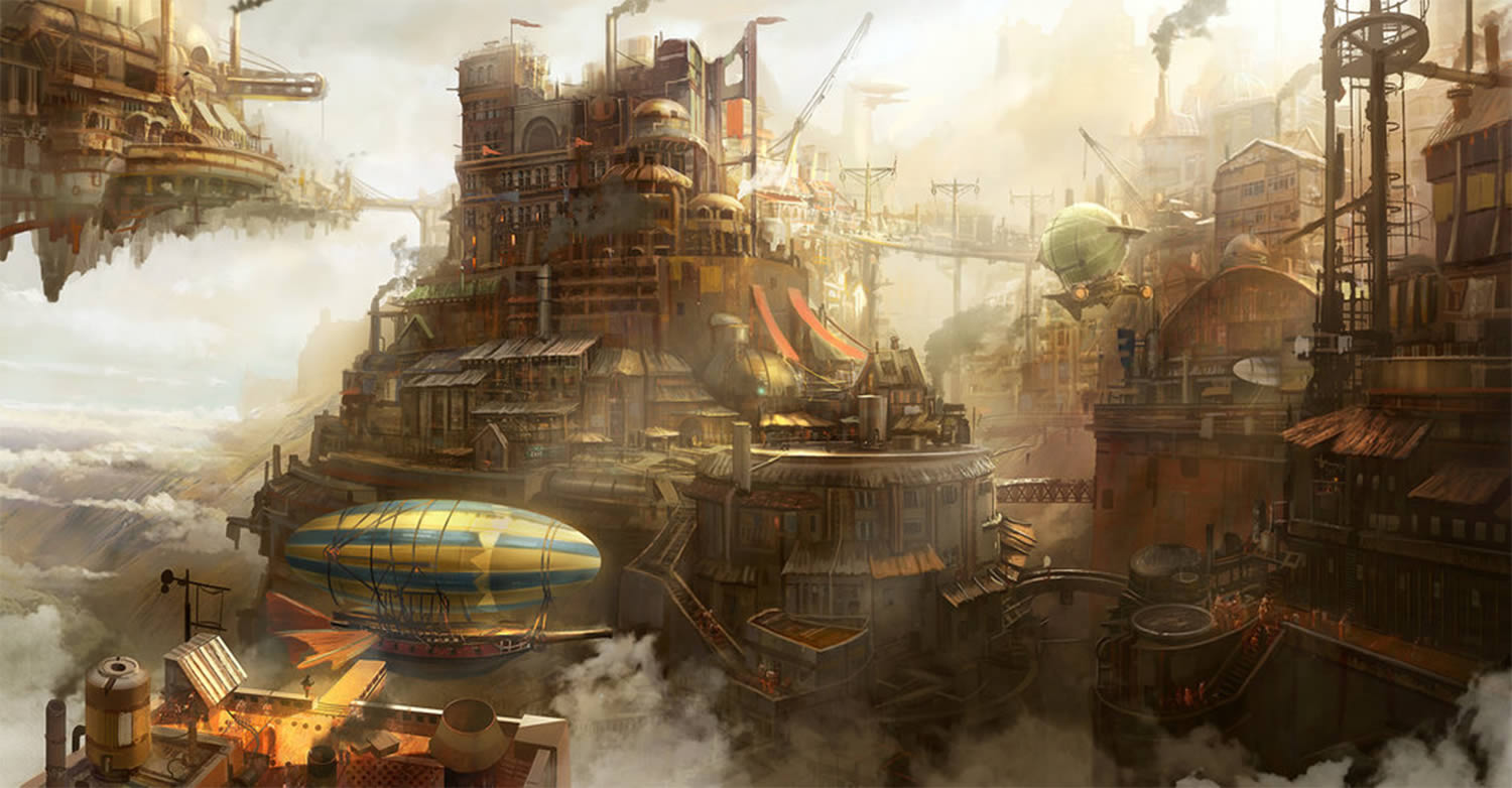 steampunk concept by tyler edlin
