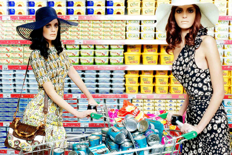 miles aldridge fashion supermarket