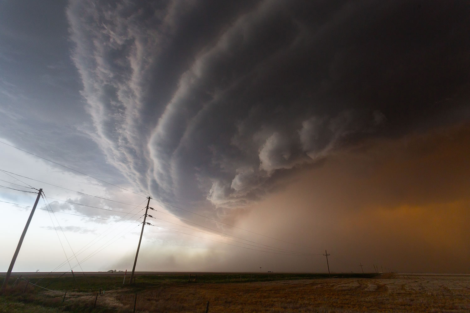 super cell in texas by Mike Olbinski