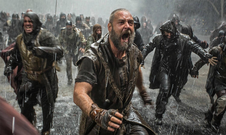 russell crowe yelling in Noah
