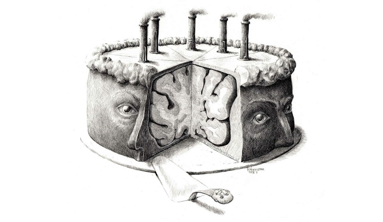 brain cake by redmer hoekstra