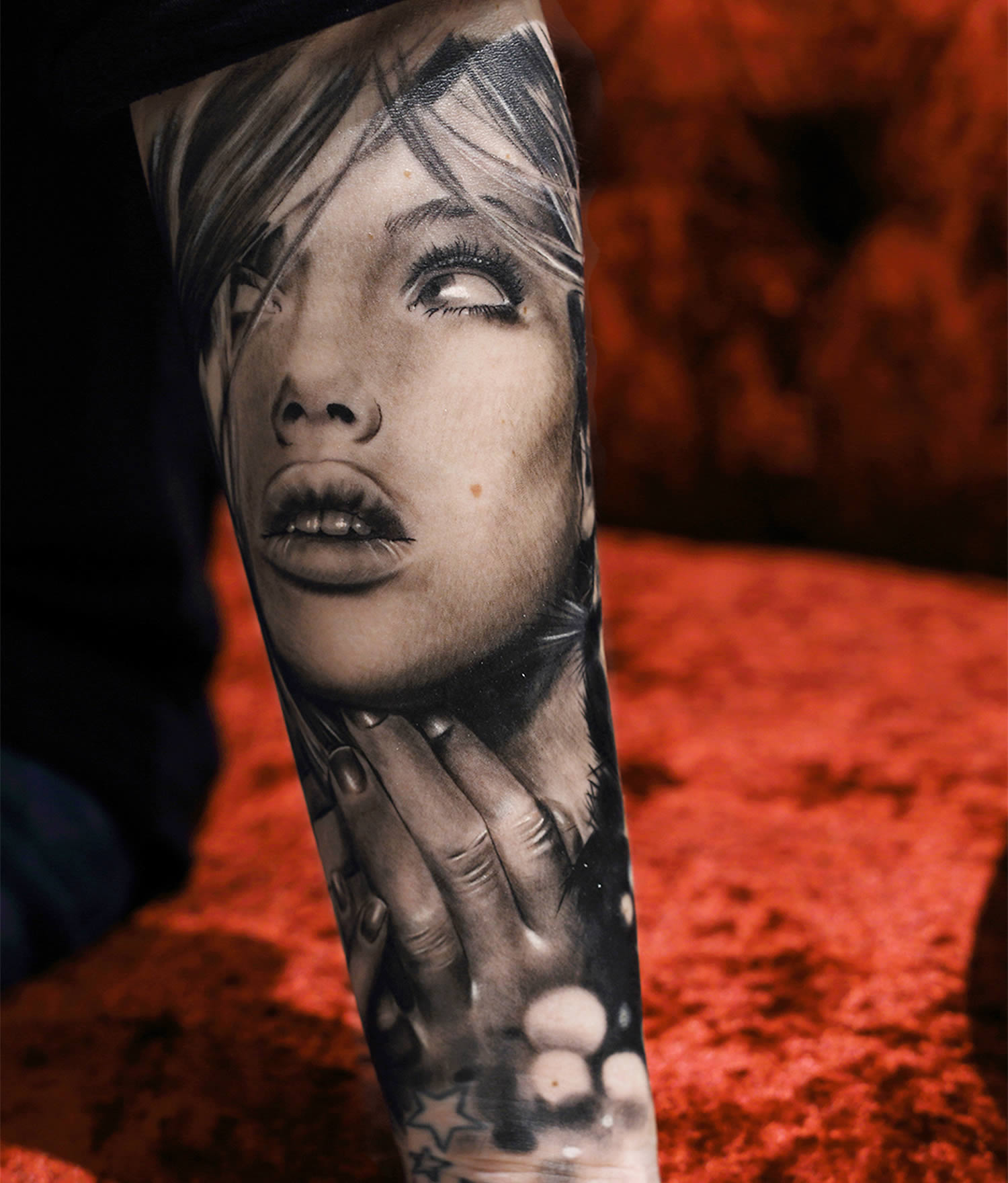 Realism Tattoo For Woman: Realistic Tattoos By Italian Artist Fiato