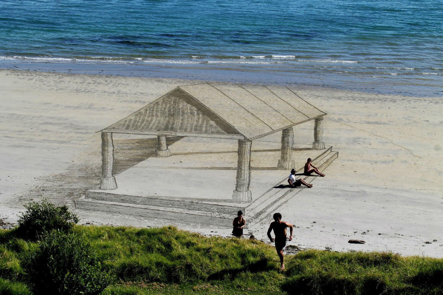 jamie harkins nz beach art