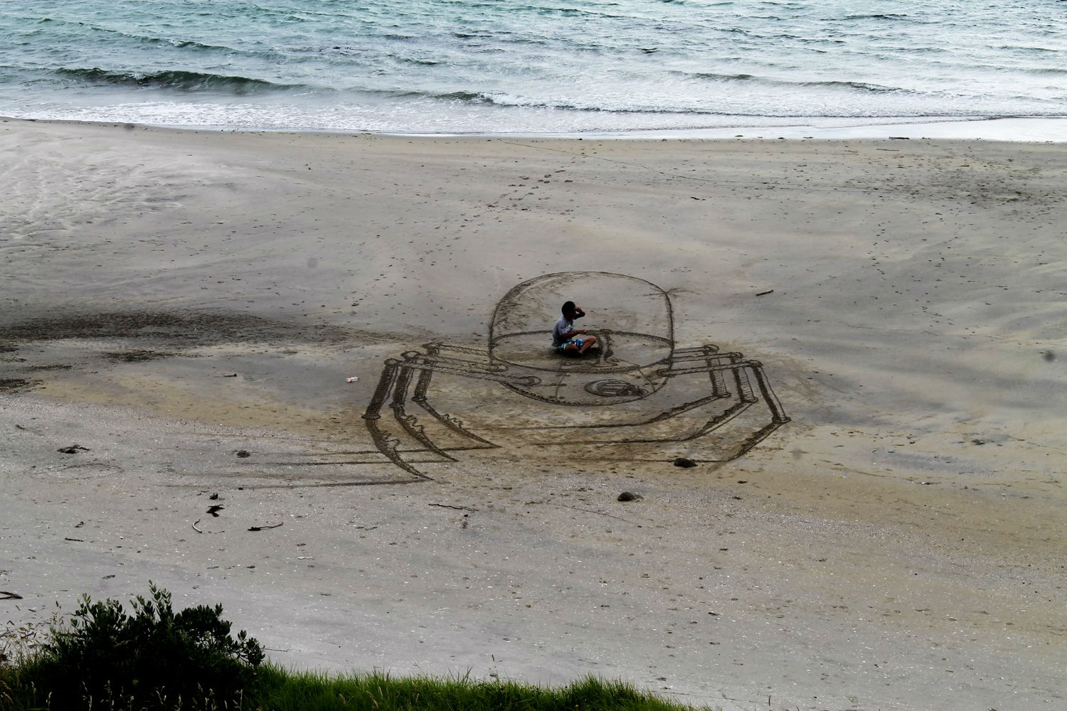 3d beach art jamie harkins