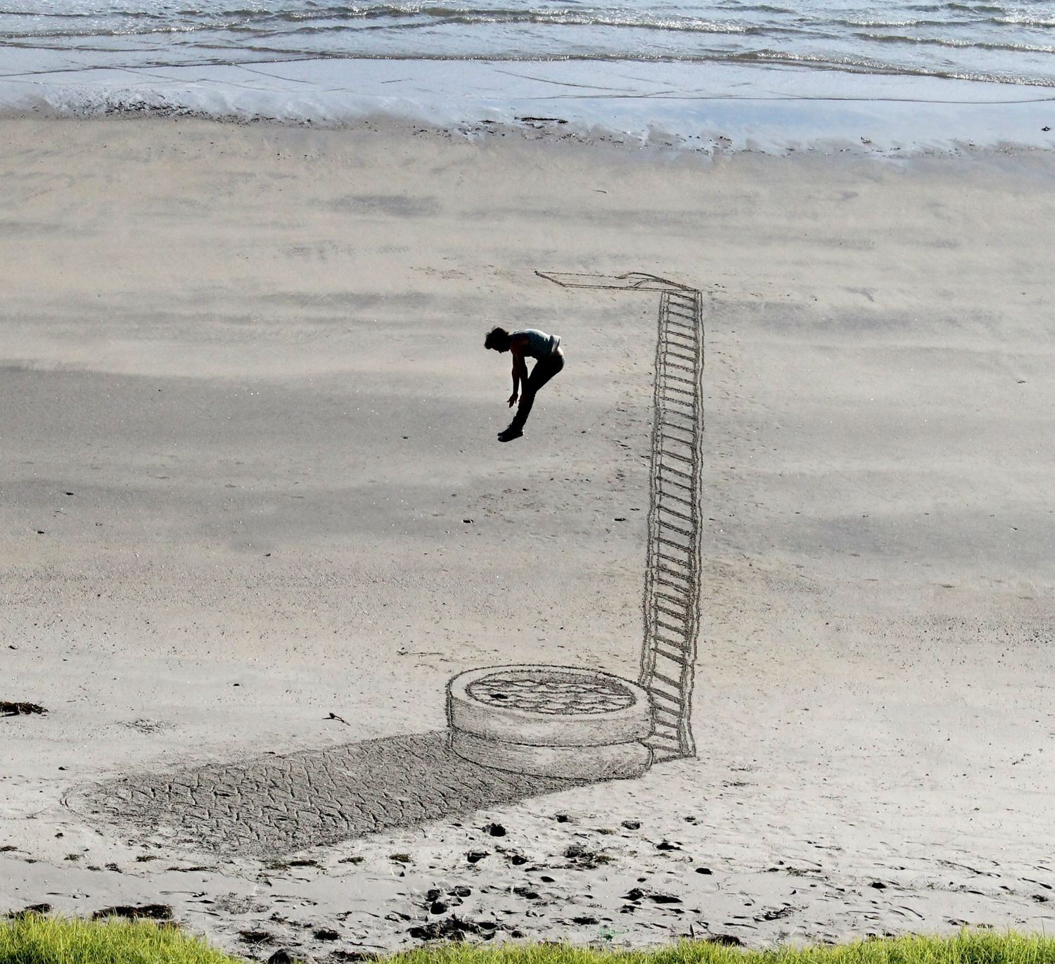 jamie harkins 3d beach art