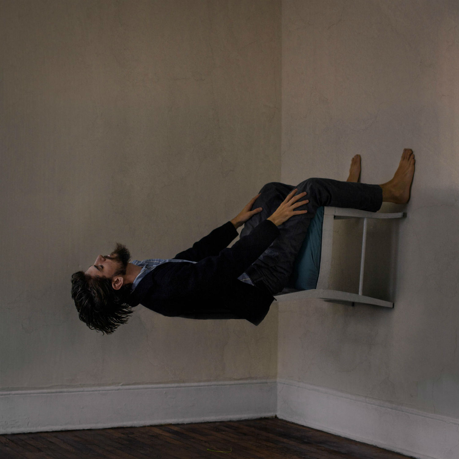 diggie vitt photography surreal upside down man