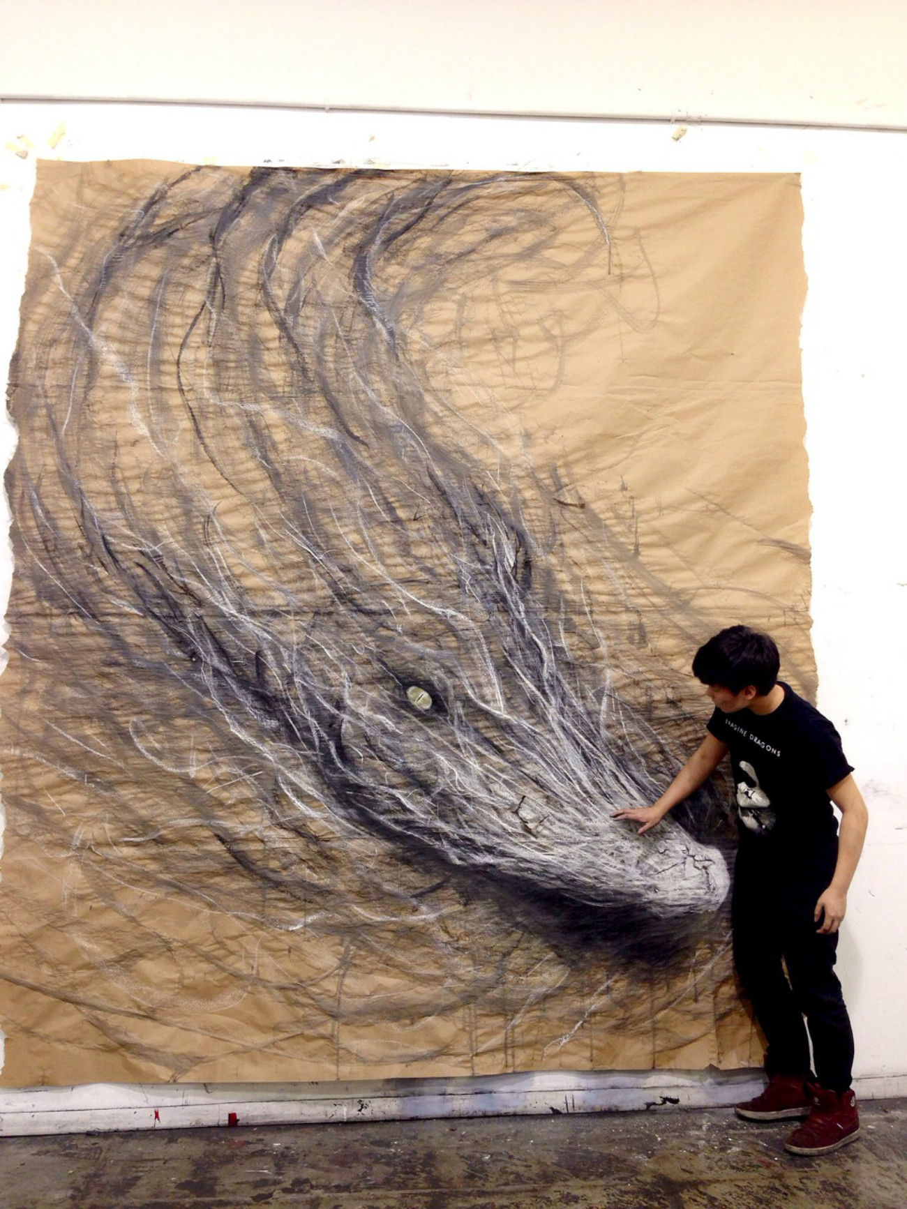 fiona tang dragon drawing 3D