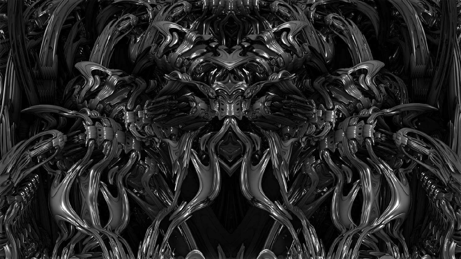 giger style art by Graham Symmons
