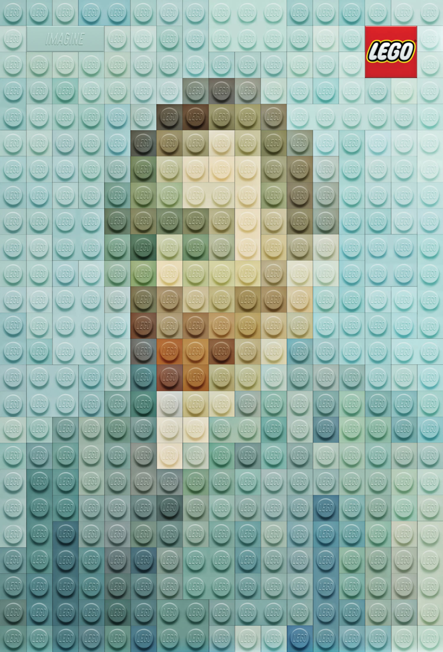 LEGO Poster Remakes of Famous Paintings
