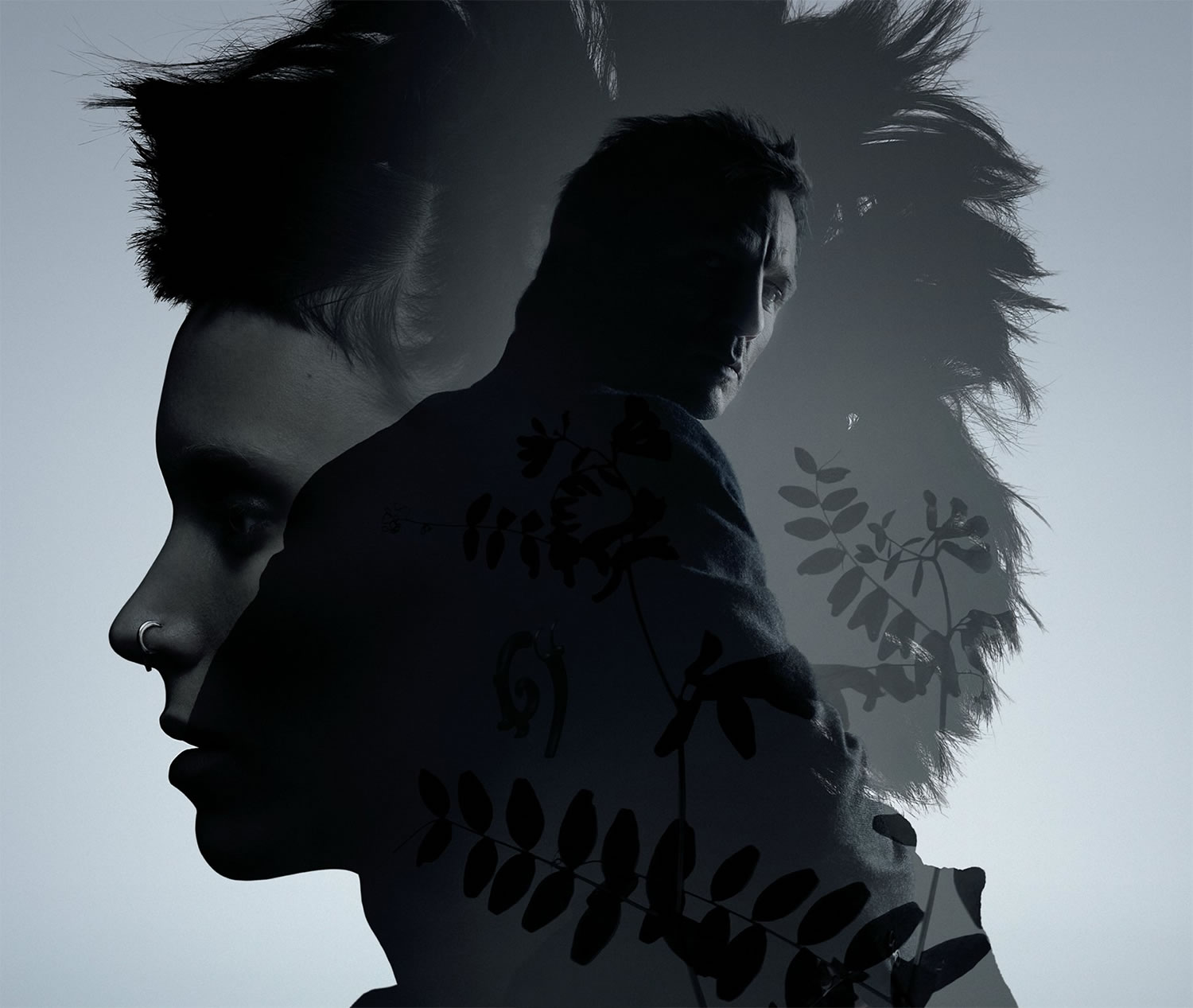 the girl with the dragon tattoo dark poster