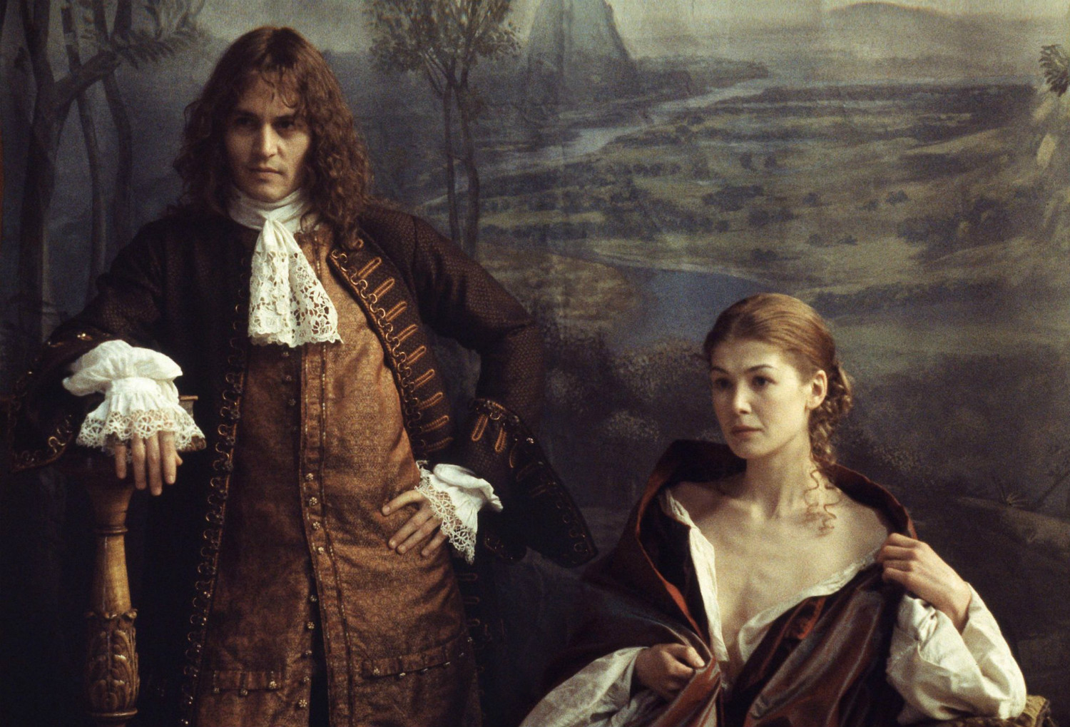 the libertine johnny depp rosamund pike