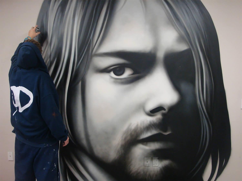 kurt cobain graffiti owen dippie