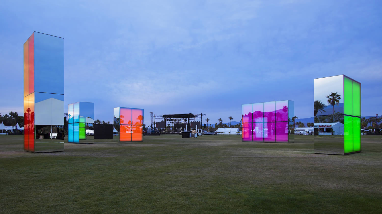 panoramic view coachella by philip k smith