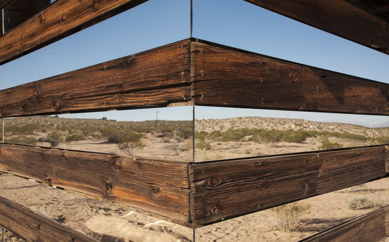 corner or cabin, by phillip k smith
