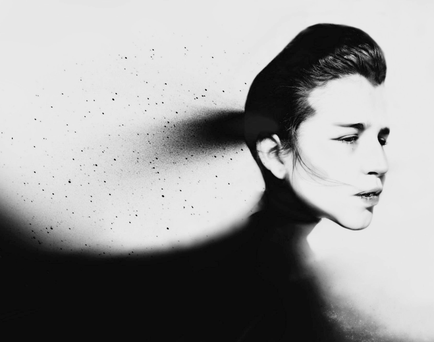 silvia grav black white photography surreal
