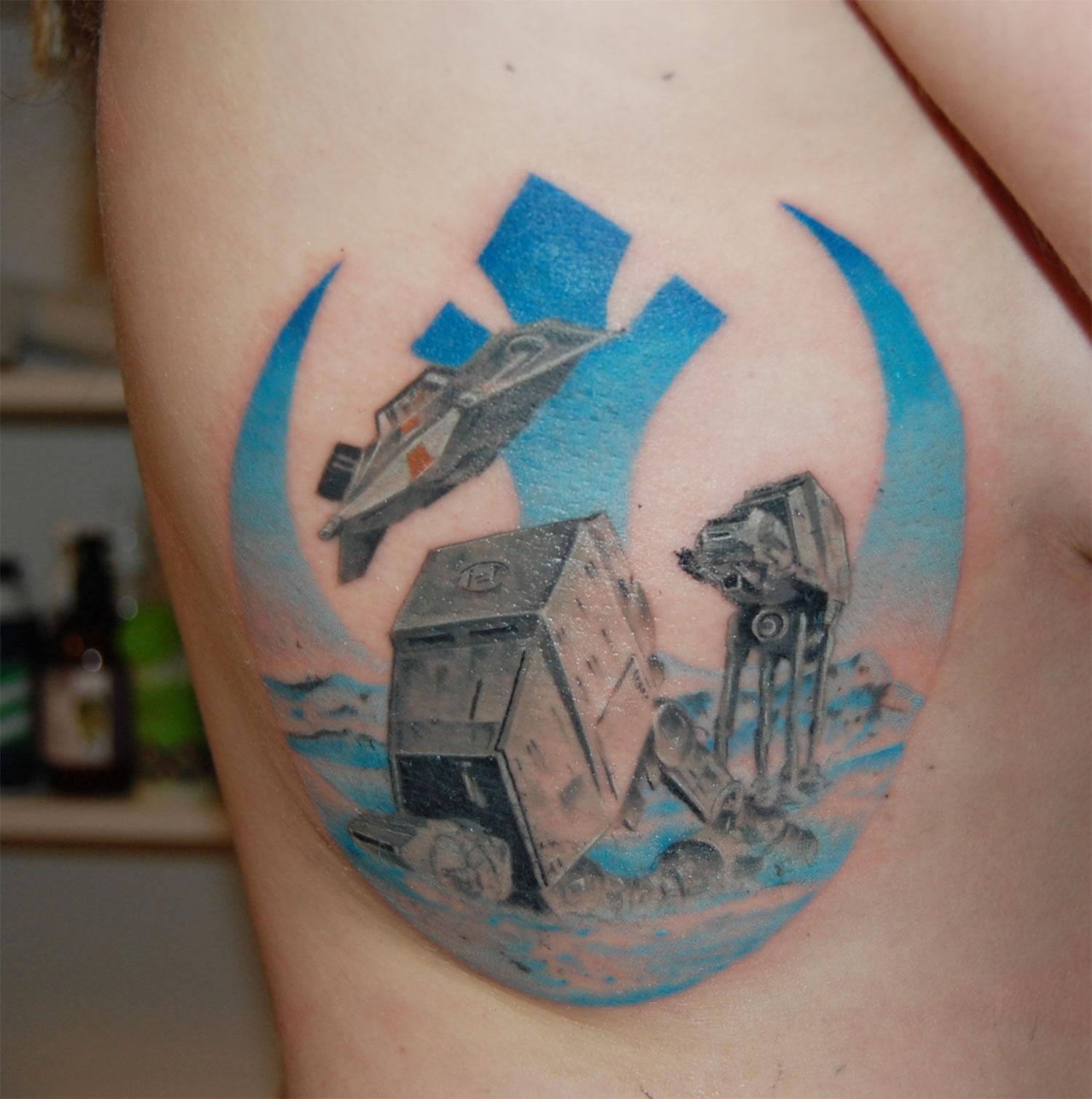 rebel alliance by  Matt oddboy. star wars