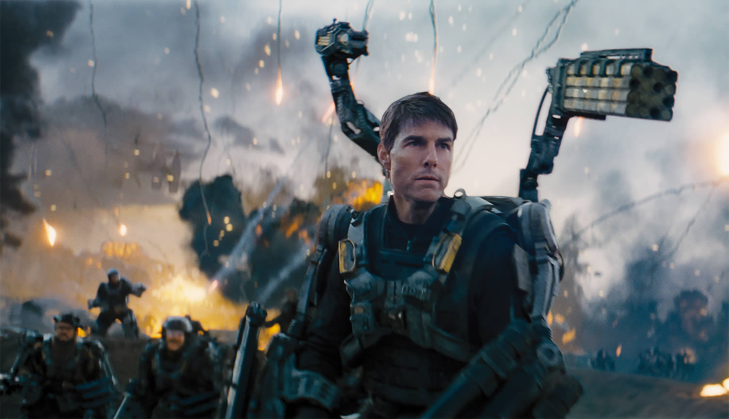 edge of tomorrow movie, tom cruise