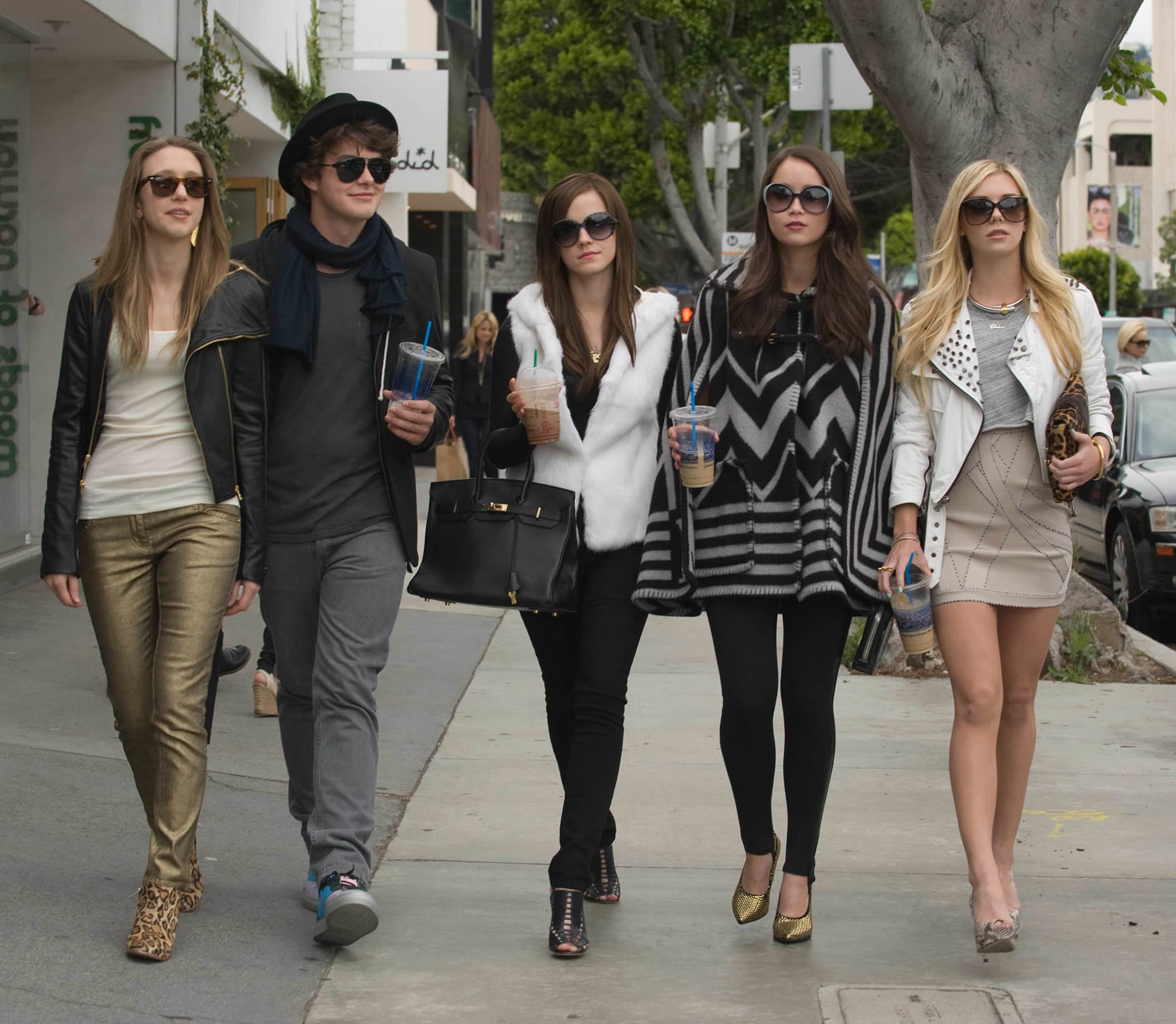 ids from the bling ring movie.