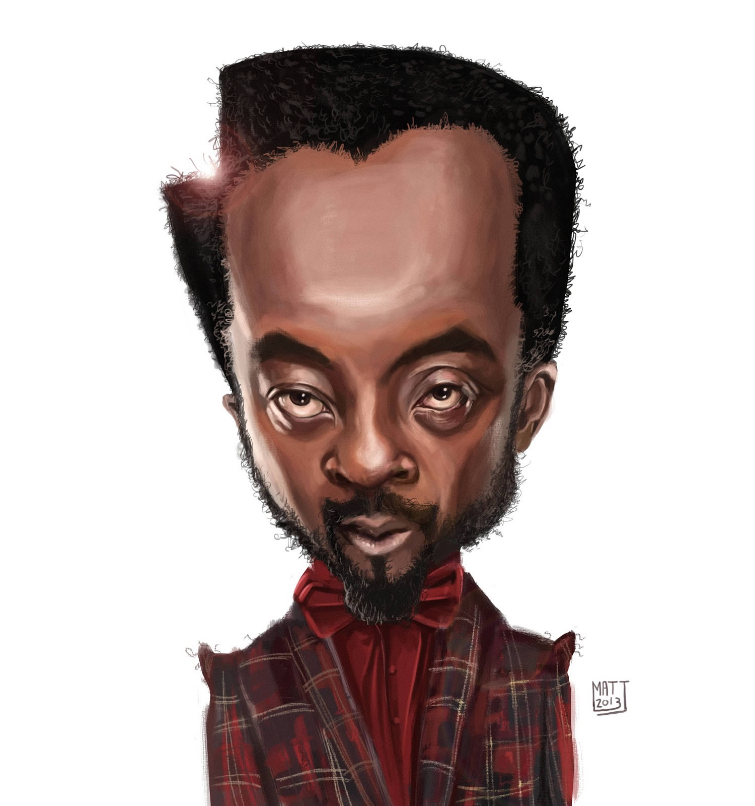 william, caricature by matt ryder