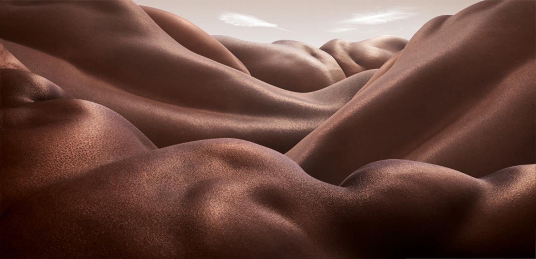 Desert of Backs by Carl Warner